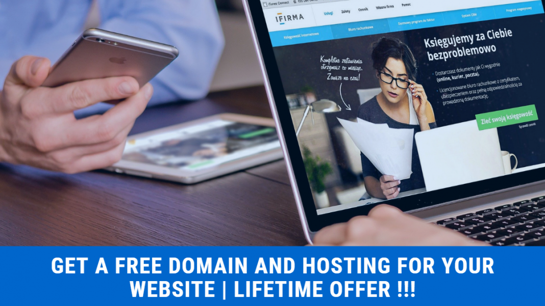 how to get free domain and hosting for your website