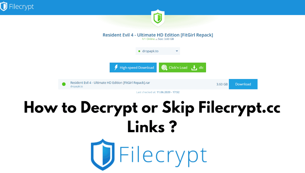 How to Decrypt Filecrypt Links