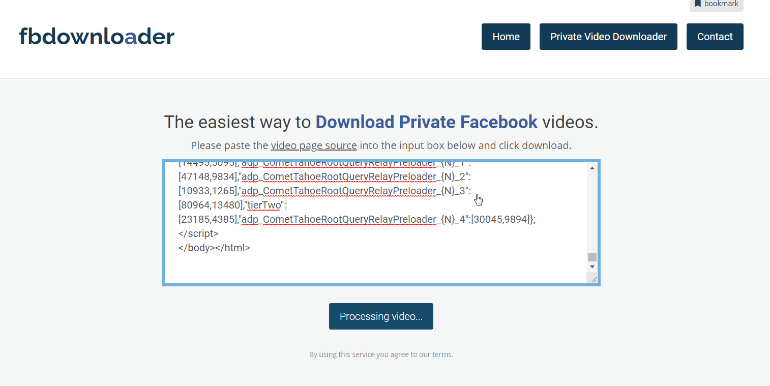 How to Download Private Facebook Videos 2020