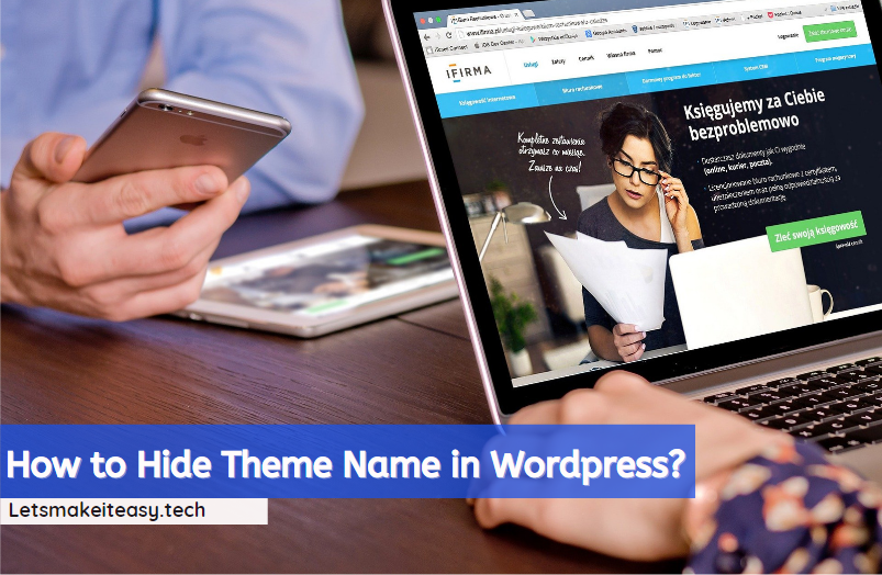 How to Hide Theme Name in Wordpress?