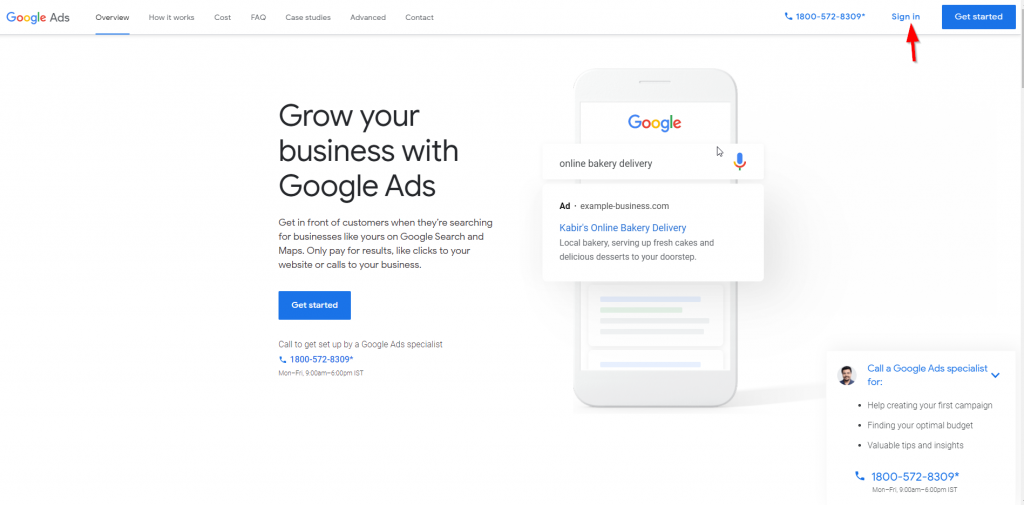 How to Redeem Google Ads Free ₹2000 Credit?