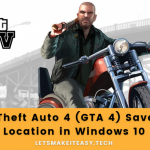 How to Fix GTA 4 Save Game Location was not Found in Windows 10?