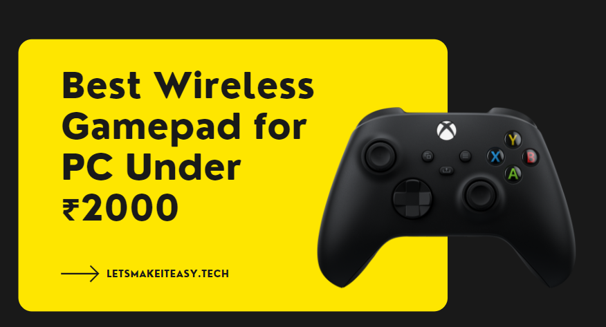 Best Wireless Gamepad for PC Under ₹3000