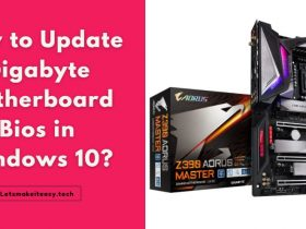 How to Update Gigabyte Motherboard Bios in Windows 10