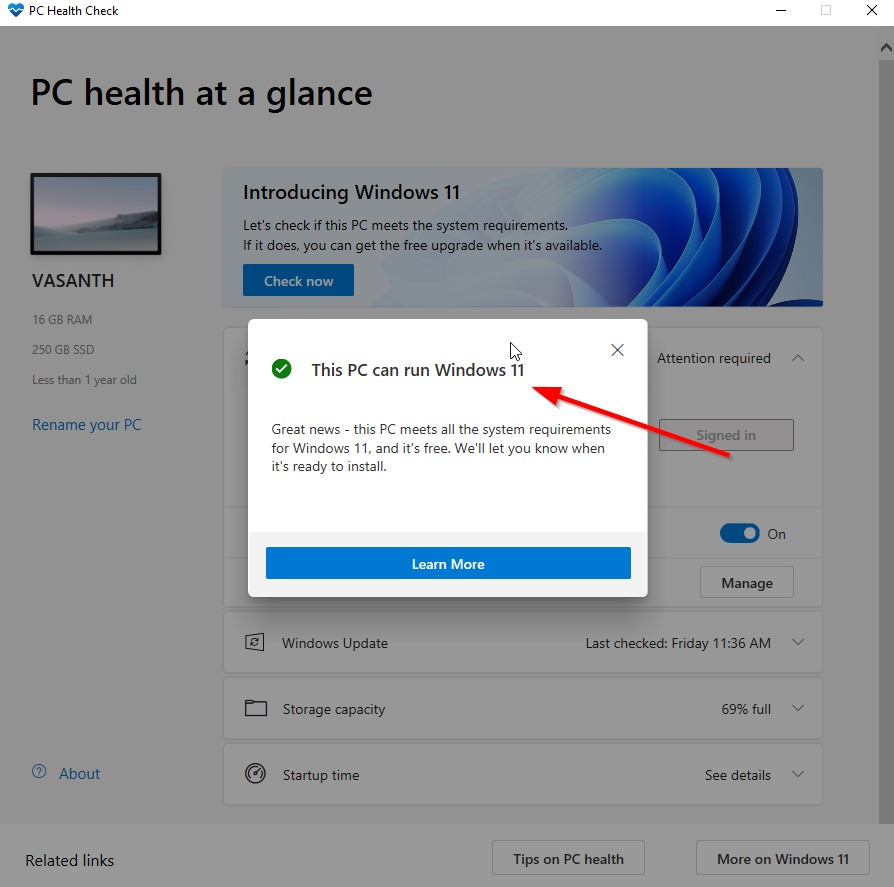 """How to Fix """"This PC can't run Windows 11"""" Problem"""