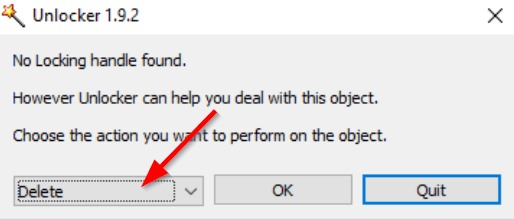 """How to Fix """"This is No Longer located in Directory.Verify the items location and try again.""""?"""