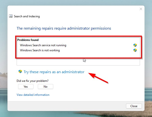 """How to Fix """"Windows could not start windows search service on local computer"""" Error in Windows 10 & 11?"""