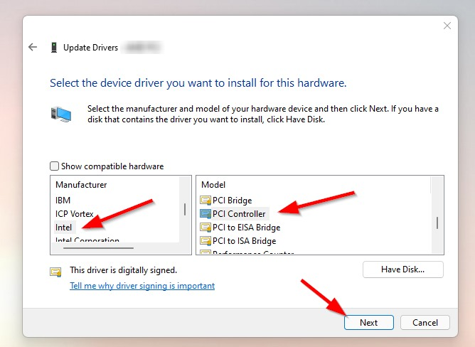How to Fix PCI Simple Communications Controller Driver Not Installed/Missing Error In Windows 7,8,8.1,10 & 11?