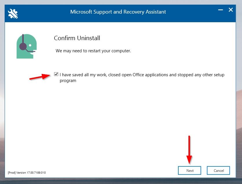 How to Completely Uninstall Microsoft Office (2007,2010,2013,2016,2019) Using Microsoft Support and Recovery Assistant Tool?